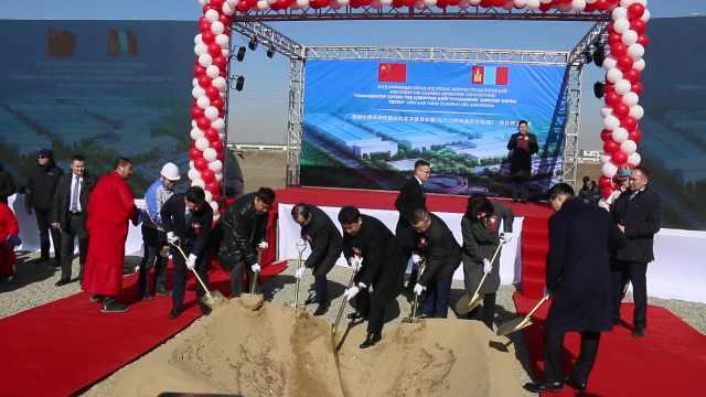中蒙合作污水处理厂:日处理25万m³