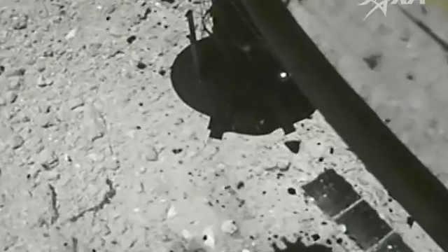 """日本探測器通過""""射擊""""取樣小行星"""