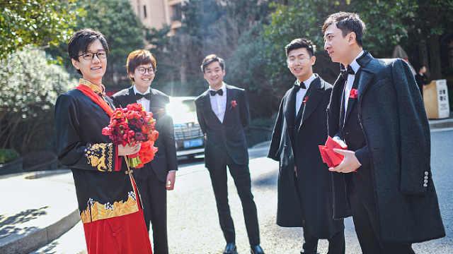 电竞世界冠军结婚,王思聪当伴郎