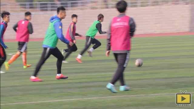你领略过青岛大学足球队的风采吗?