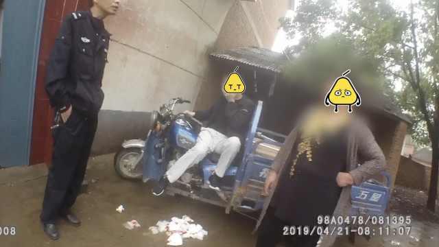 男子持刀行凶,民警挺身相护受伤