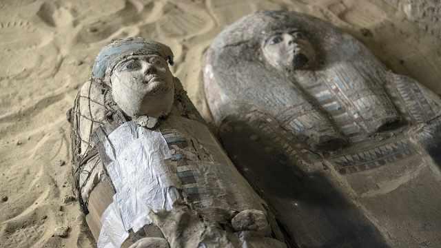 埃及出土四千年前法老两位高官墓葬