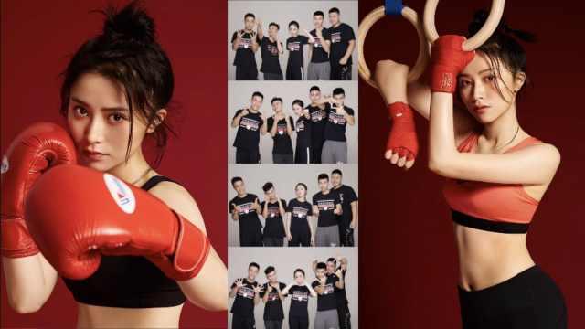 重庆美女拳击手:曾不敢看对手眼神