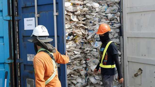 学习中国,马来西亚将拒收洋垃圾