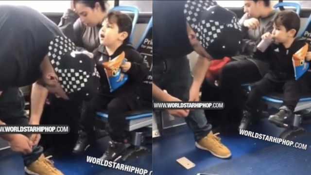 吸毒父母嗑嗨,带儿子坐公交没人管