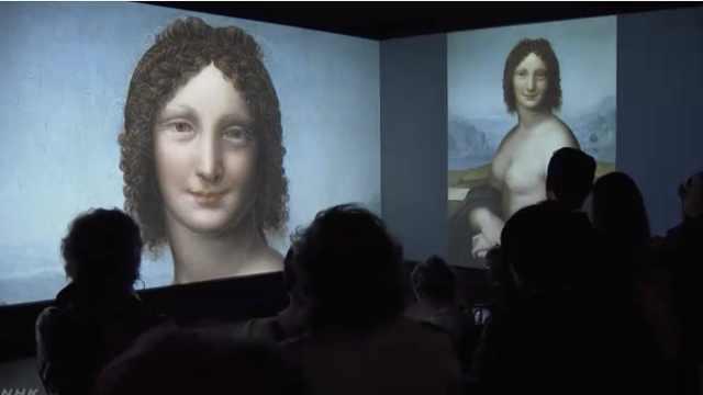 裸体的蒙娜丽莎现身,或为达芬奇绘