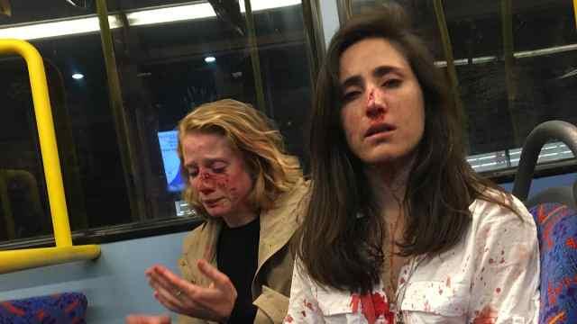 同性情侣伦敦公交上遭打,竟因这个