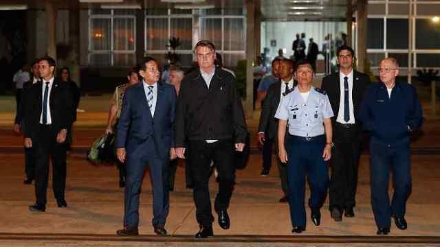 巴西總統隨行軍官帶39公斤毒品被捕
