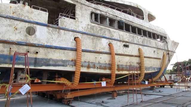 普吉沉船一周年,凤凰号残骸卖不出