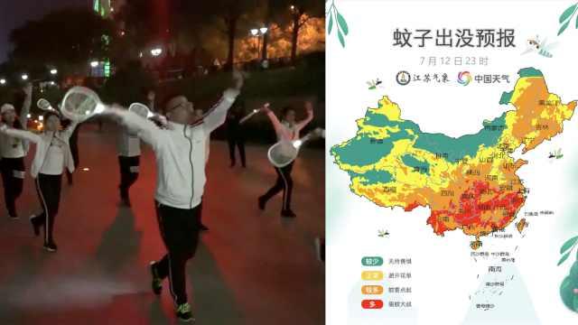 """官方""""蚊子出没预报""""!重庆亮红灯"""