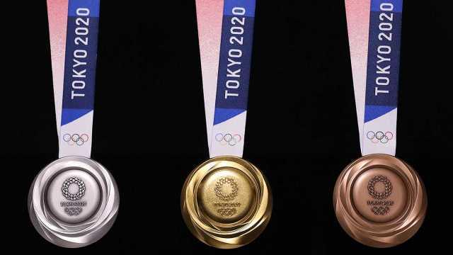 东京奥运会奖牌制作,环保到缎带