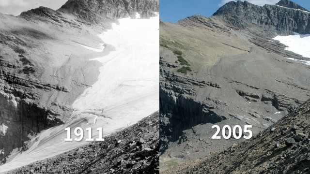 阿拉斯加水下冰川正以百倍速融化