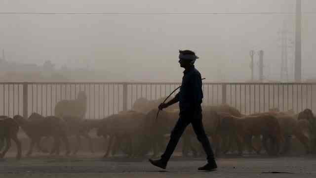 长期受空气污染相当于每天抽一包烟