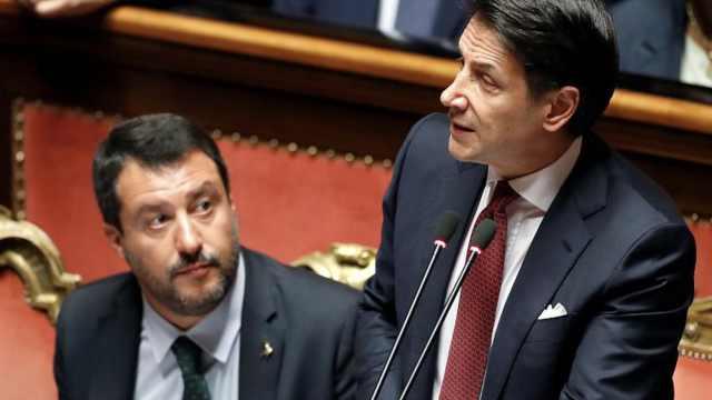 被提不信任动议!意大利总理辞职