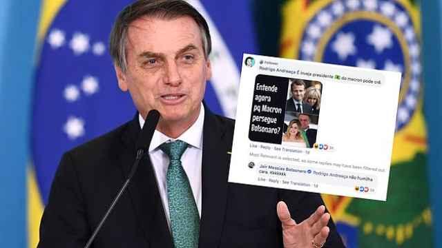 妻子被嘲笑,马克龙怒怼巴西总统!