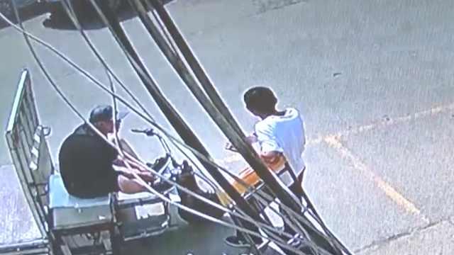 刚上班两小时,男子偷走老板电动车