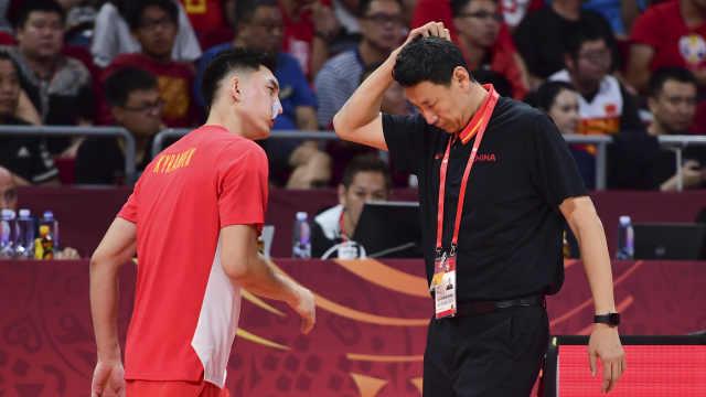 李楠:球员身材吃亏,受上场球影响