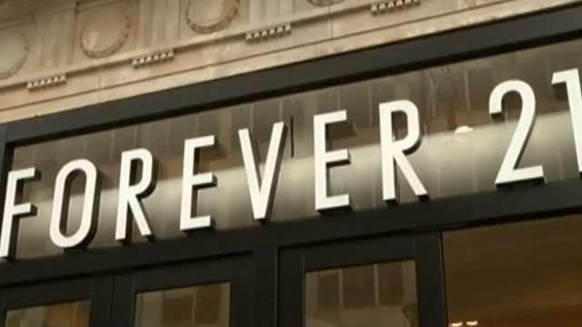 forever21退出日本,10月全部关闭