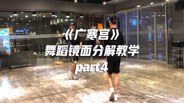 《广寒宫》舞蹈镜面分解教学part4