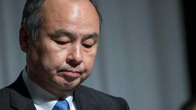 孙正义:对软银投资成绩感到羞愧
