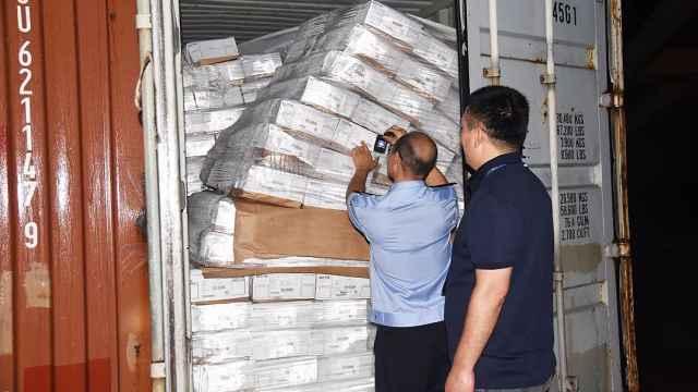 730吨走私冻肉被查获,案值1500万元