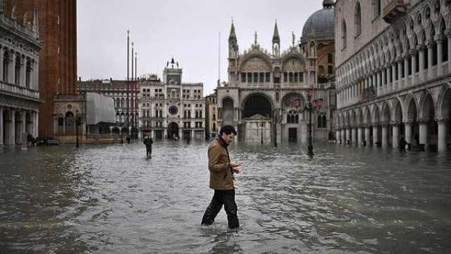 威尼斯又被淹!政府想寻求国际捐款