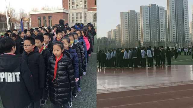 河北地震,天津学校3分钟疏散学生