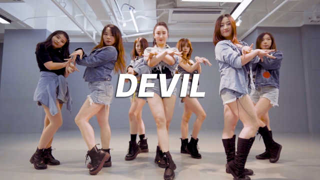 MDC翻跳CLC《Devil》,清爽牛仔风