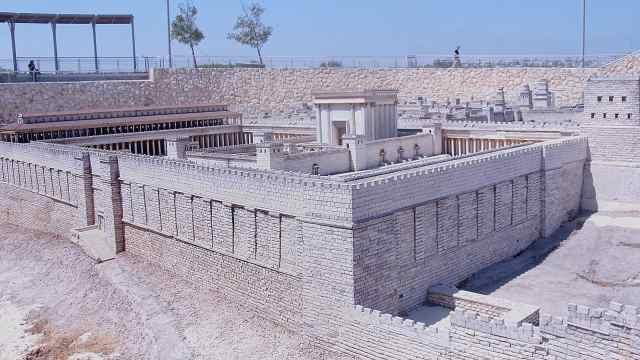 以色列博物馆重现2000年前耶路撒冷