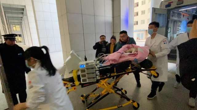 重病患儿顺利抵达北京,已成功转院