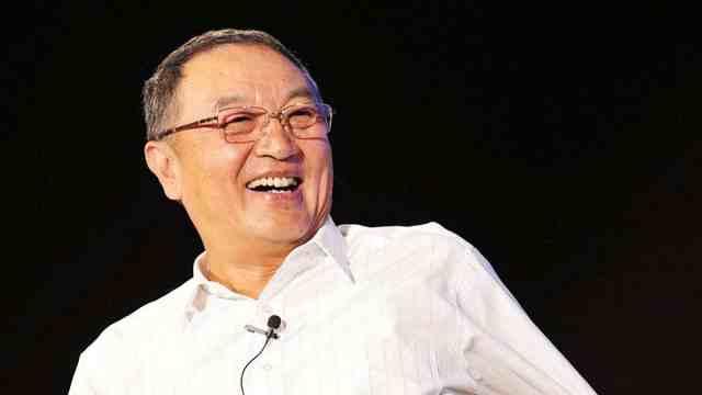 75岁元老级企业家柳传志宣布卸任