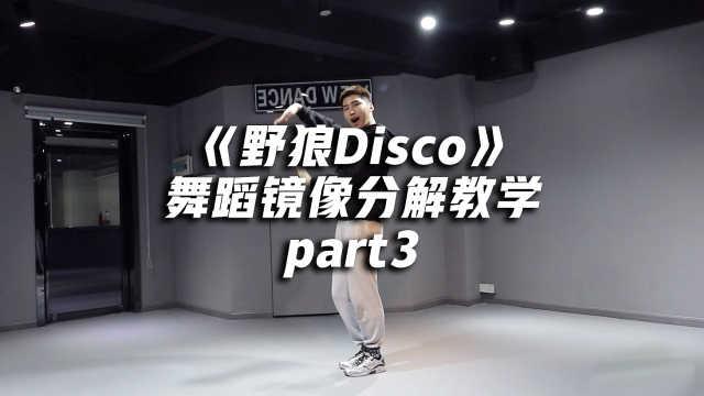 《野狼Disco》舞蹈分解教学part3
