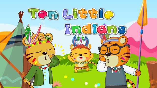 贝乐虎儿歌《Ten Little Indians》