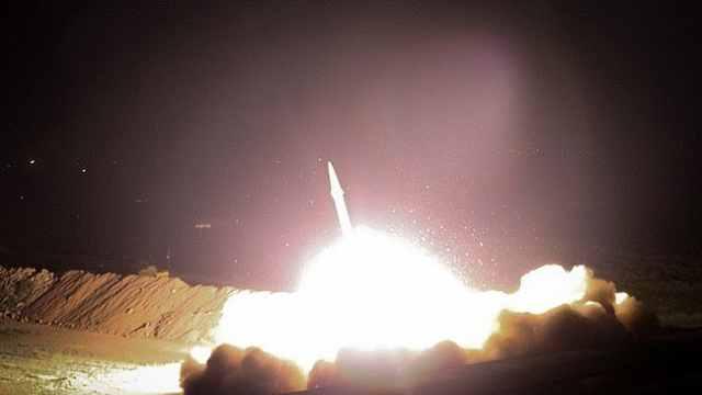 伊朗的报复!美空军基地遭导弹袭击
