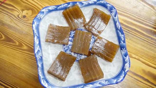 黄姐加入陈皮自制姜汁糕:化痰润肺好物