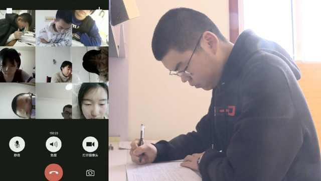 学校办视频考试,考场在家父母监考