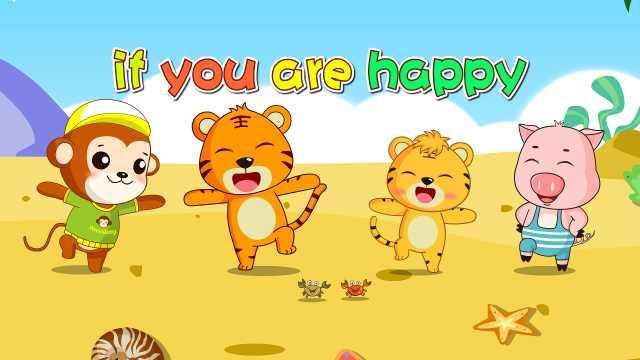 贝乐虎儿歌《If You Are Happy》
