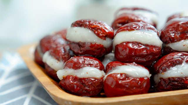 自制糯米红枣,软糯香甜巨好吃!