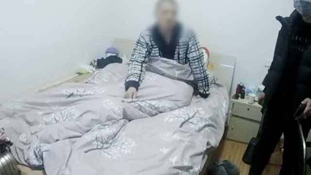 男子疫情期潜入停业公寓:吃住1月