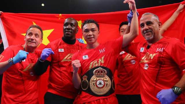挑战高难度!中国拳王徐灿要统一世界羽量级