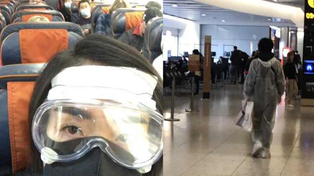 归国路|留英学生哽咽讲述回国前后:航班不断取消让人崩溃