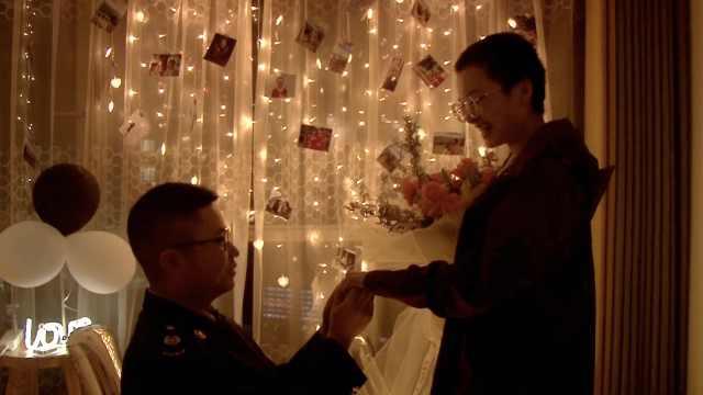 你保护别人,我保护你!援鄂护士回家被求婚:愿望终于实现了
