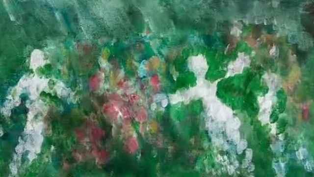 3岁男童作画十多幅走红网络,网友:我这么多年美术白学了