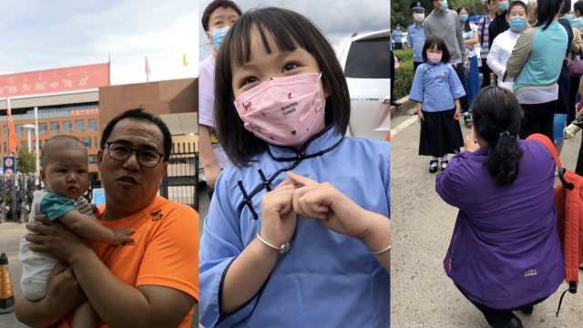 6岁半萌娃连续6年第7次见证高考:想考清华大学