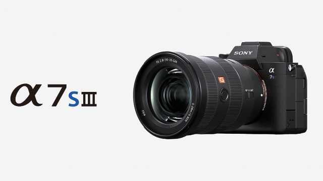 索尼全幅微单A7S3发布:侧翻触摸屏 支持4K 120p视频
