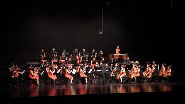 青少年演奏古典乐:比独奏更快乐的是参加乐团