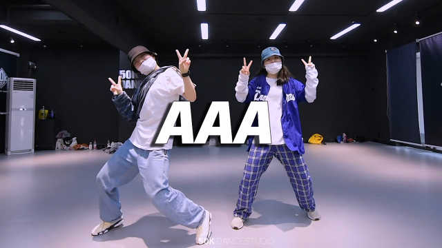 Dog-X狗子Zoe阿宗编舞《AAA》,帅气又可爱