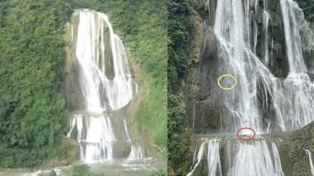 驴友贵州挑战百米瀑降,2人遇险挂瀑布一天仍未获救