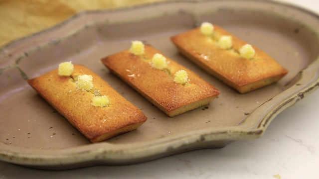 柠檬姜费南雪:方寸小甜品,含三个独立配方