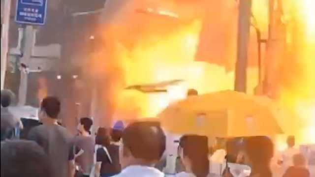 珠海一酒店附近发生煤气爆炸:3人受伤,已无人员受困